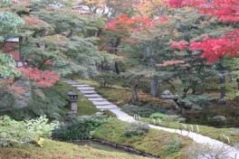 Gardens of Japan – Two Views Photo