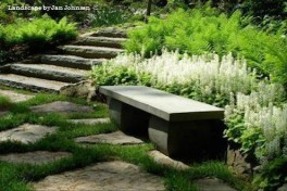 Stonework in the Garden Photo