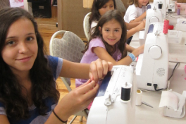 After School Sewing Program Photo