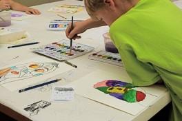 Family Printmaking Workshop Photo