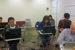 Adobe Muse Training Class Photo