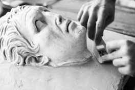 Sculpture: Plaster Carving Photo