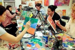 1-Nite BYOB Painting (2 for $50 Spring KickstART!) Photo