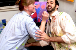 1-Nite Couples Painting Class Party Photo