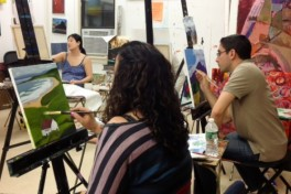 Cocktails & Creativity: BYOB 2 Paintings in 4 Nights Photo