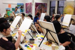 Cocktails & Creativity: BYOB 3 Paintings in 6 Nites Photo