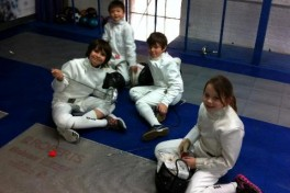 Kids Epee Intermediate Class Photo