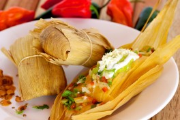 Tacos and Tamales Photo