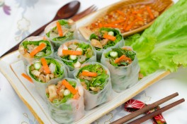 A Vietnamese Menu Photo