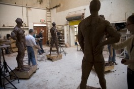 Saturday Morning Sculpture - with Jock Ireland Photo
