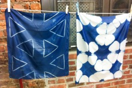 Shibori Dyeing Photo