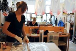 Silk Painting Photo