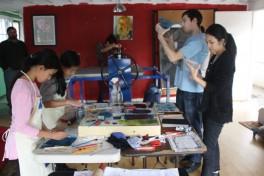 Monoprint Workshop Photo