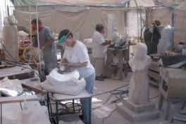 Thursday Stone Carving Photo