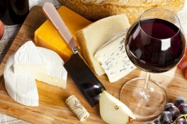 Pairing Wine & Cheeses: Rind, Brined, and Wined! Photo