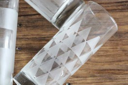 Glass Etching + Mixology Photo