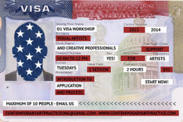 Visa for Visual Artist Intro to Application & Process Photo