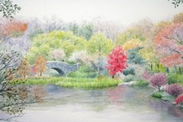 BYOB Watercolor Workshop Photo