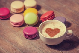 Coffee, Tea or Macarons Photo