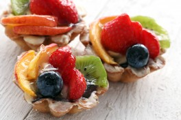 French Pastries Photo