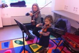 Beginning Violin (4 - 5 years) Photo