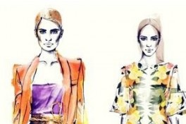 The Basics: An Introduction to Fashion Illustration Photo