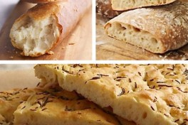 The Bread Building Series - Baguette, Focaccia, Ciabatt Photo