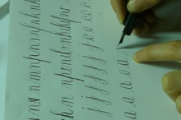 Copperplate Calligraphy Photo
