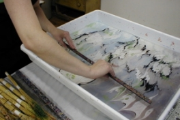 Paper Marbling Photo