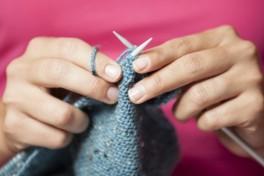 Beginning Knitting Photo