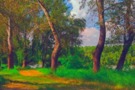 Landscape Painting Photo