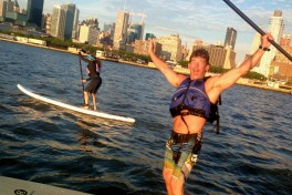 Stand Up Paddle Board Race Training Photo