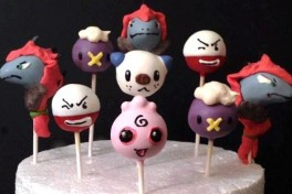 Halloween/Fall Cake Pops Photo