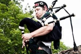 Traditional Irish Bagpipes Photo