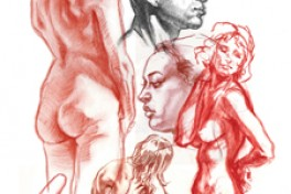 Dynamic Gestural Figure Drawing - Short Pose Intensive  Photo