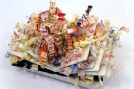 Encaustic in Three Dimensions: Plaster Cloth Photo