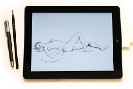 Figure Drawing with the iPad Photo