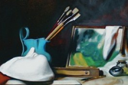 Everything You Need to Know About Oil Painting Material Photo