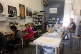 Pottery classes Photo
