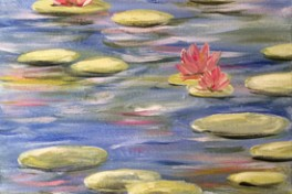 Monet's Lilies ( New York ) Photo