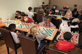 Kids in the After School Chess Photo