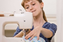 Children Free Intermediate Sewing Class Photo