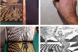 Adult Arts: Beginning Printmaking  Photo
