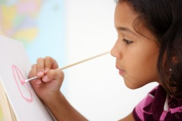 Children's Arts: Drawing & Painting (8-11yr) Photo