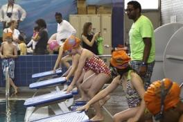 Kid Swim Advanced 2: City College Photo