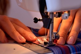 Adult Sewing Photo