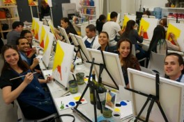BYOB Painting Workshop Photo