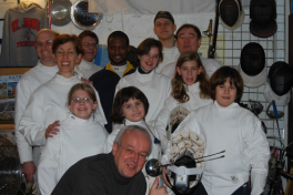 Group Fencing Photo