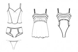Photoshop and Illustrator for Lingerie Design Photo