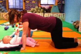 Mom and Baby Yoga (newborn to new walkers) Photo